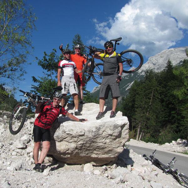 Biketour durch die Berchtesgadener Alpen