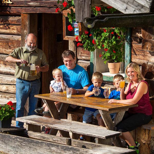 Alpine hut fun in Werfenweng
