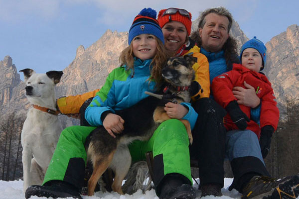 Peter Juhre und Familie