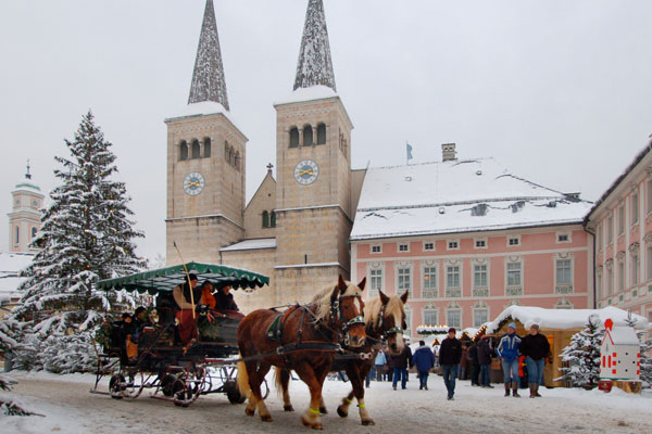 Horse carriage at the Advent | Berchtesgadener Land Tourismus GmbH (BGLT)